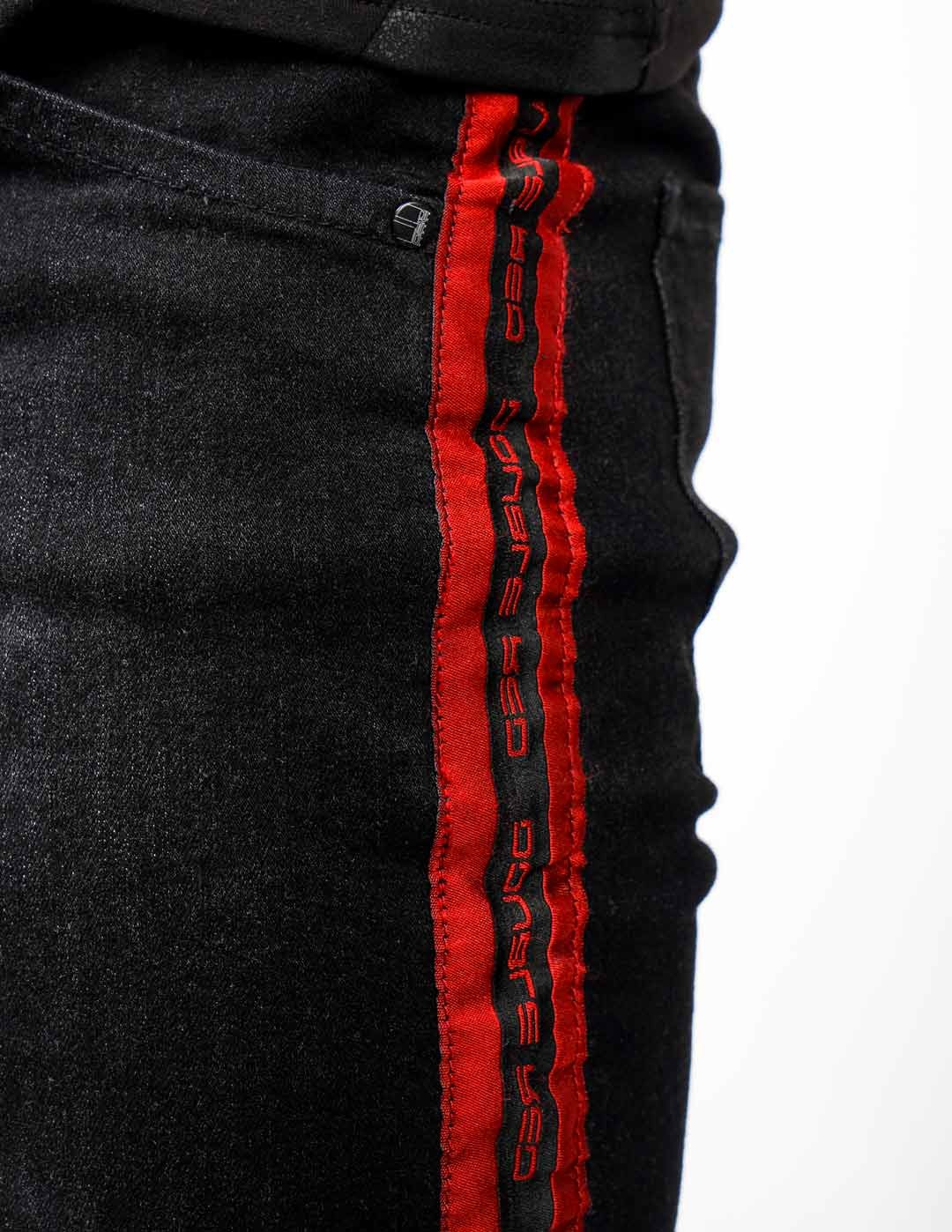 RED JEANS Shorts Black