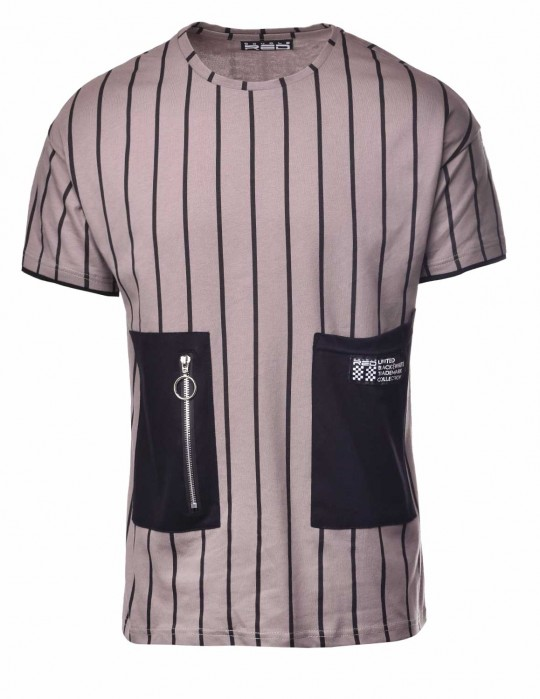 T-Shirt BROOKLYN Stripes BW Edition