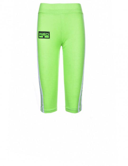 Leggins SPORT IS YOUR GANG 3D Logo Green