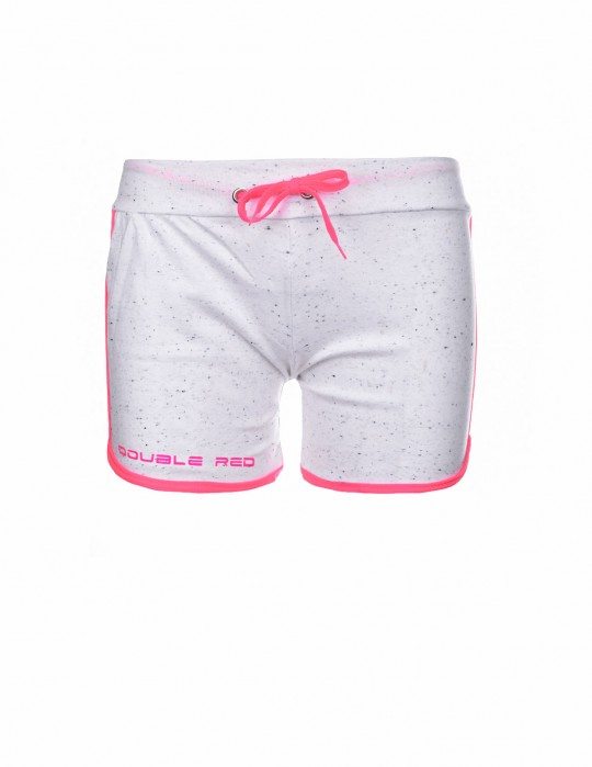 DOUBLE RED Women's Short Neon Mystic White