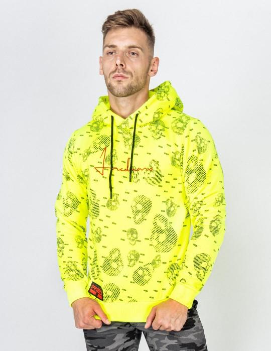 Hoodie I REDMAN School Street Edition Neon Yellow