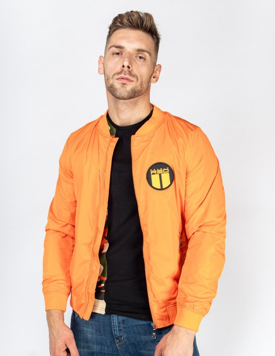 Jacket Street Hero Orange