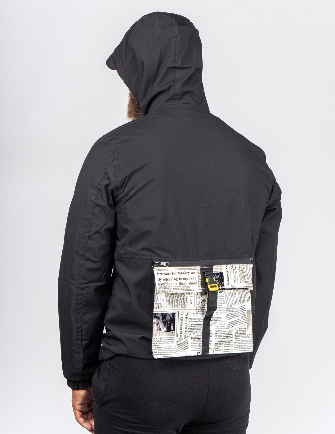 JOURNAL Jacket Black