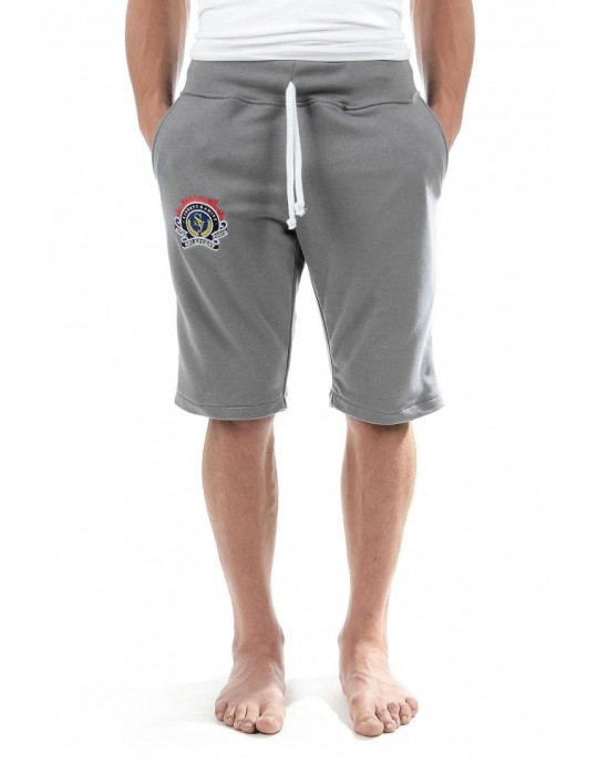 SELEPCENY GRAY SHORT ROYAL FORCE FINE COMFORT 70% COTTON SWEATPANTS
