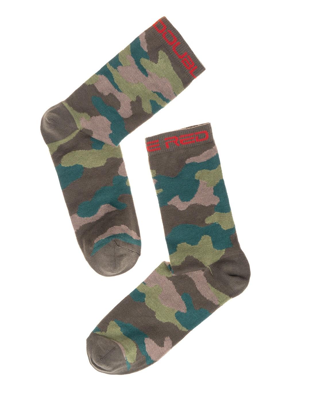DOUBLE FUN Socks Camouflage