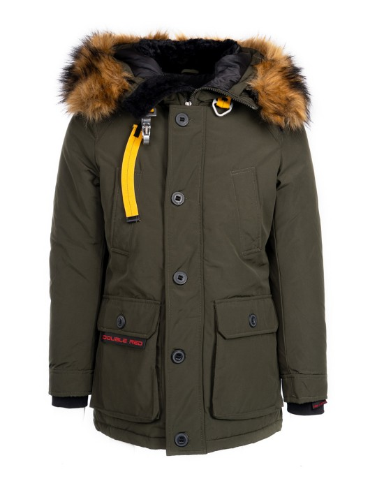 RENEGADE X RED Jacket Olive Green