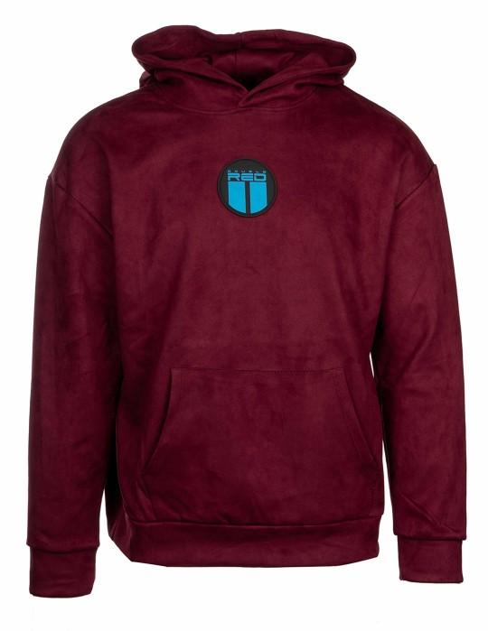 VELVET Sweatshirt Bordeaux