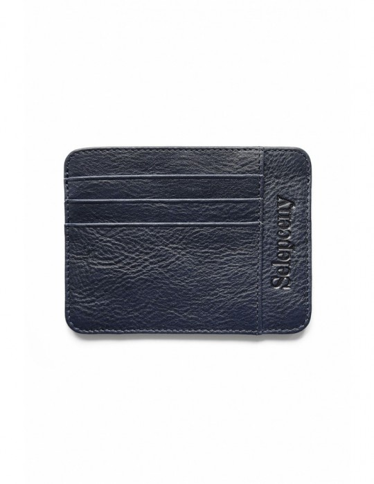SELEPCENY DARKBLUE 100% GENUINE LEATHER CARDHOLDER