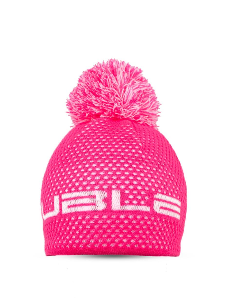 NISEKO Neon Pink Unisex Winter Cap
