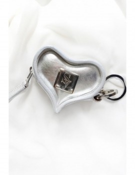 SILVER HANDMADE KEYBAG GENUINE LEATHER Selepceny