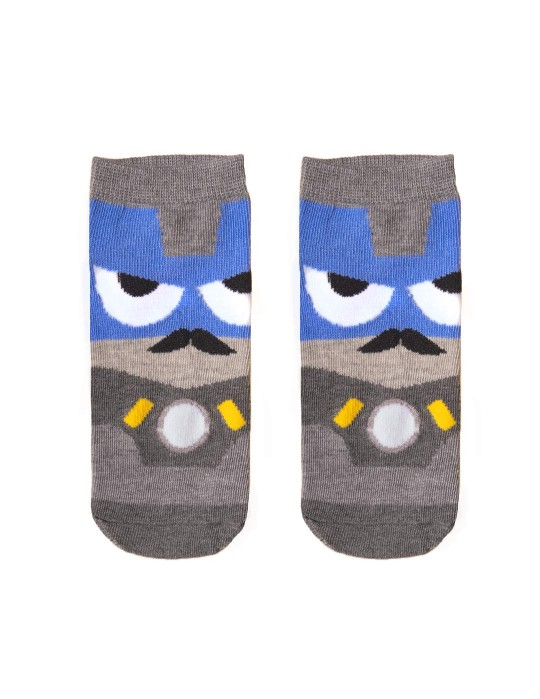 KID FUN Socks Grumpy Hero