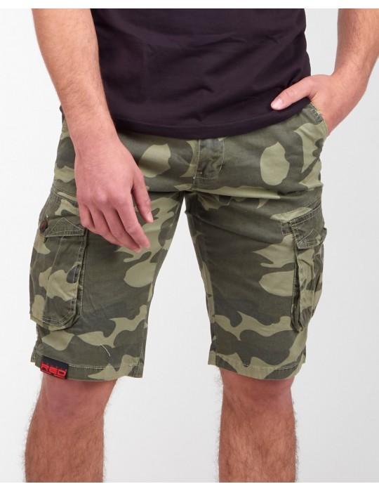 SQUERS Shorts Green Camo
