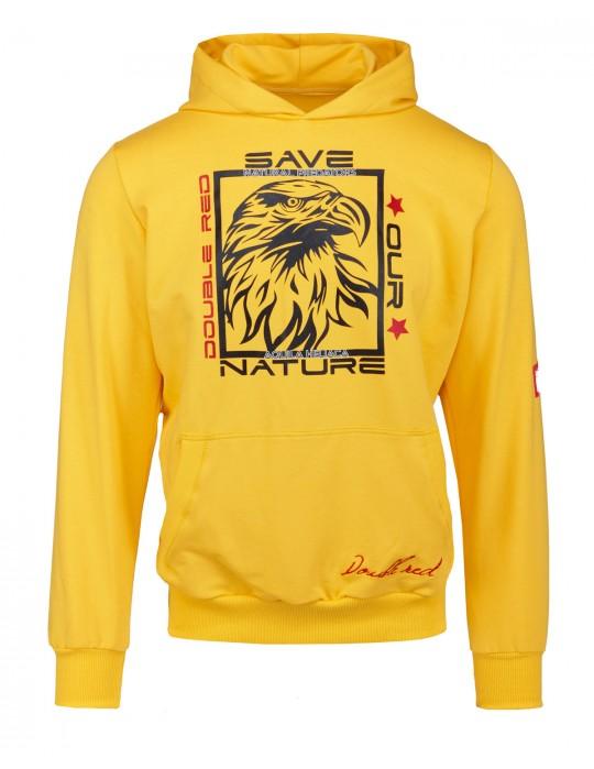 Natural Predators Eagle Hoodie Yellow