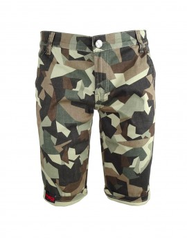 Limited DR M Green Camo Bermuda Shorts