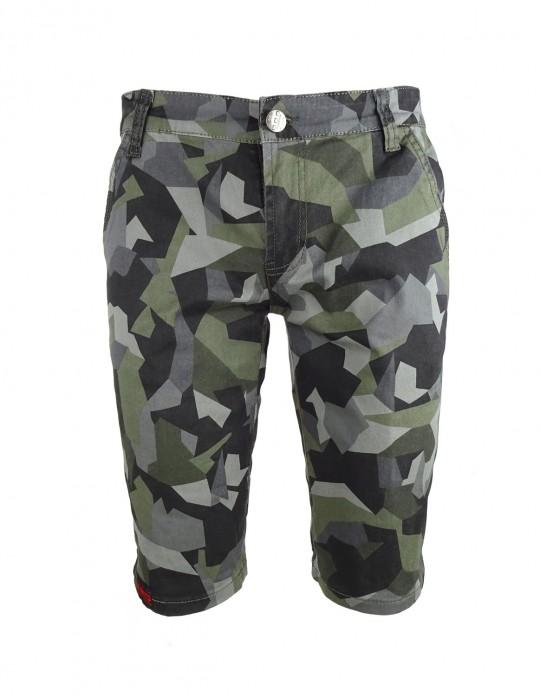 Limited DR M Grey Camo Bermuda Shorts