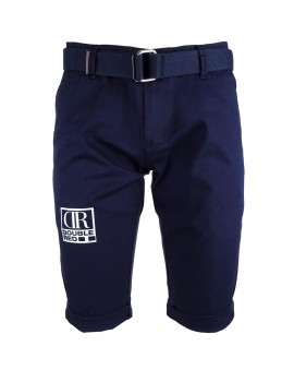 Limited Silver DR M Blue Bermuda Shorts