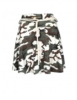 Limited DR W camo loose sweatskirt
