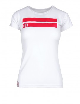DR W T-shirt Stripes Edition White