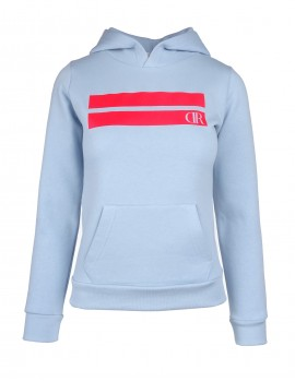 DR W Hoodie Stripes Edition Light Blue