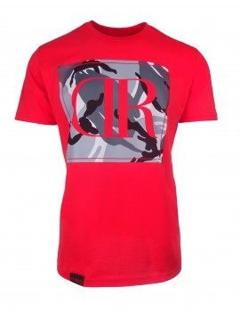 T-shirt CamoDressCode Red