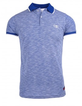 Limited DR M Polo T-shirt Blue Marl