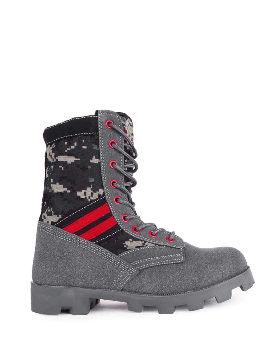 Boots Pray For Grey Red Desert