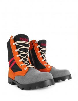 Boots Orange/Black Crazy Army Color