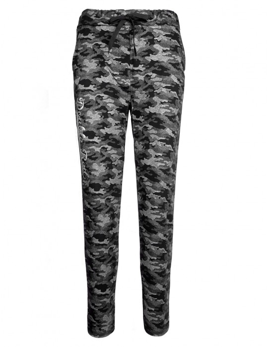 DR W Sweatpants Grey Camo