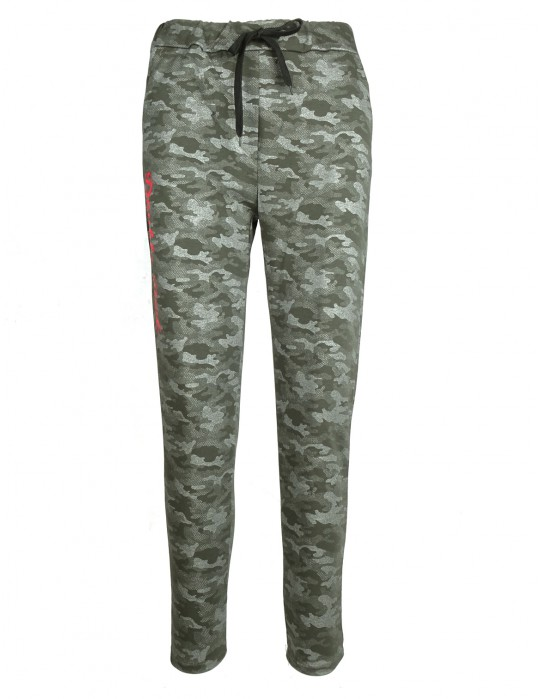 Sweatpants Green Camo
