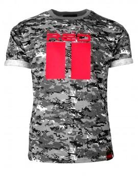 T–Shirt B&W Digital Camo All Logo