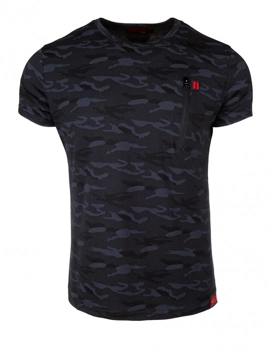 DR M T-shirt Sport Freak Camo Black