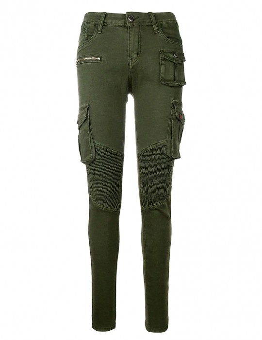 Limited Cargo Jeans Army Green