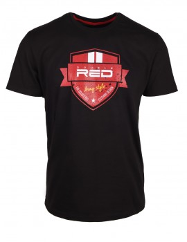 DR M T-Shirt Army Style Black