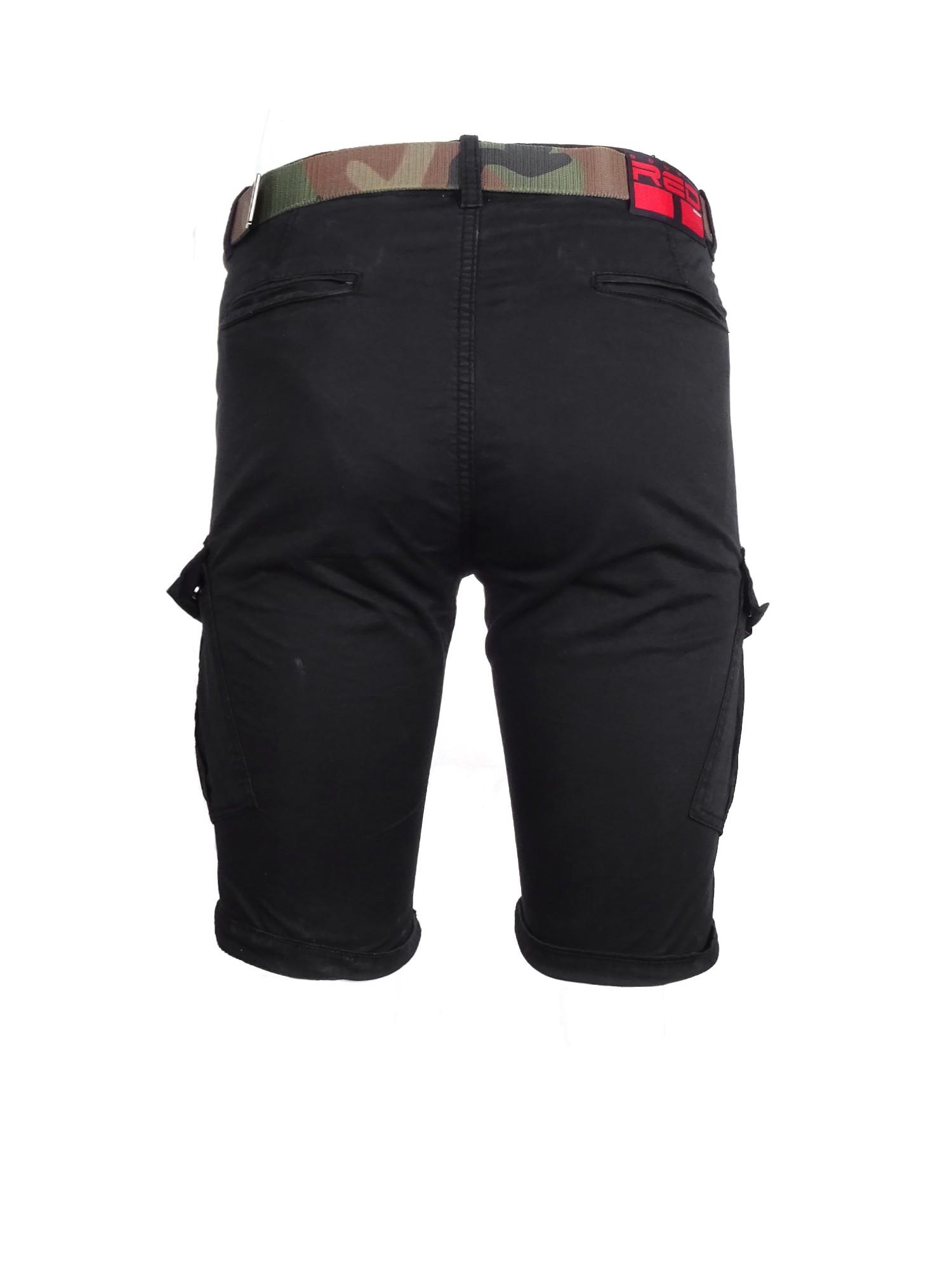DR M Cargo Shorts Black