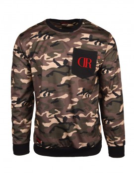 Sweatshirt Camo Pocket Light