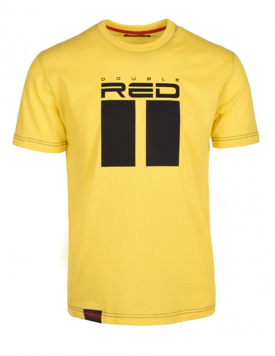 DR M T-shirt All Logo Yellow
