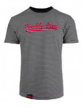 DR M Nautical Striped T-Shirt B&W