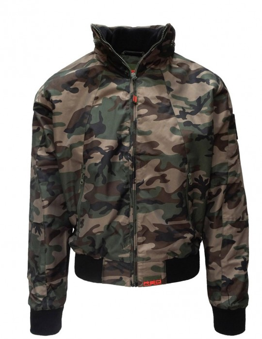 Jacket Street Hero Green Camo Limited Edition