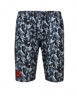 Shorts Sport Dark Blue Camo
