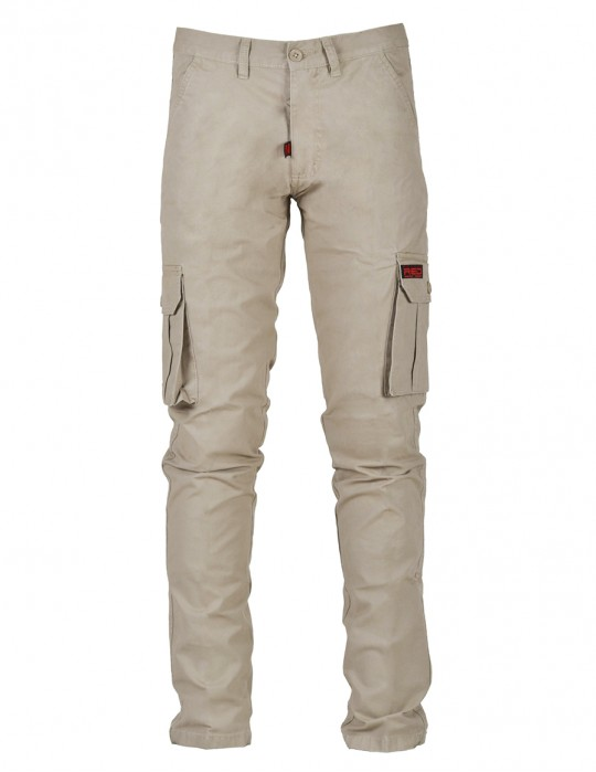 DR M Classic Cargo Jeans Beige