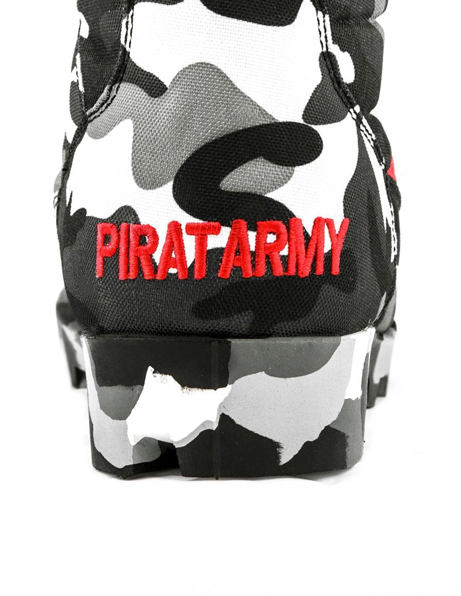 Topánky B&W PIRAT ARMY