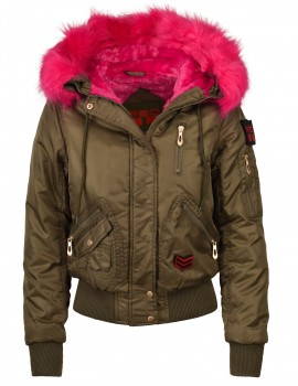 Short Parkas Pink Limited Edition