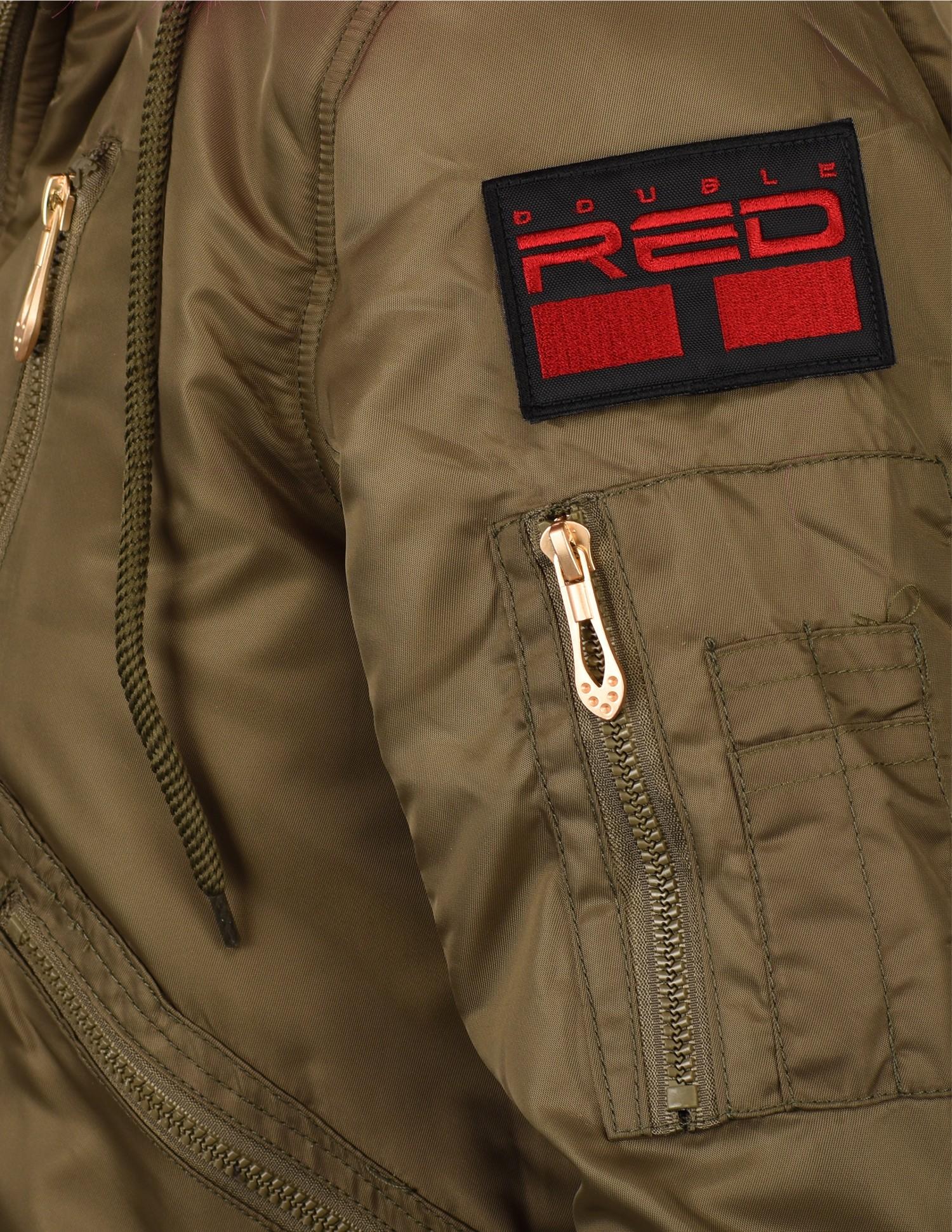 Short Parkas Dark Red Limited Edition