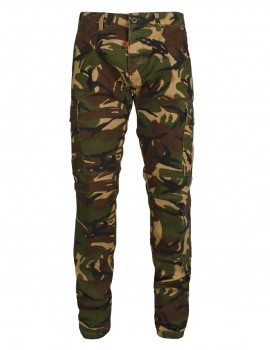 Cargo Pants Camouflage Green