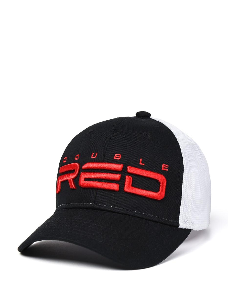 DOUBLE RED Airtech Mesh Cap B&W