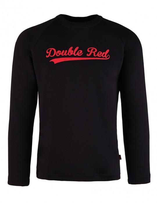 Čierna mikina BLACK&RED