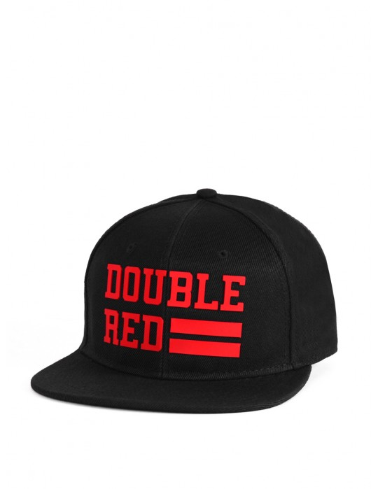 Snapback Cap UNIVERSITY OF RED Black/Red