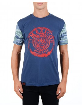 Modré tričko Mexiko