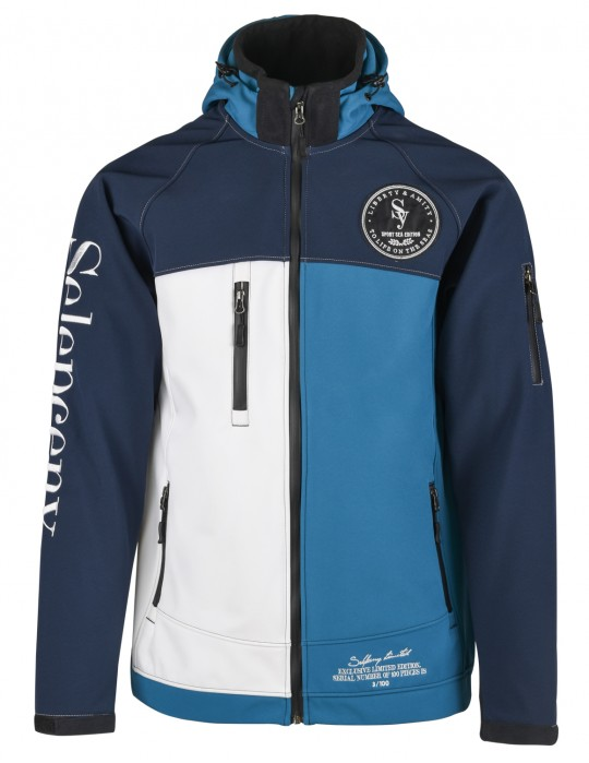 SEAMAN LIMITED EDITION YACHTING 100% SOFTSHELL JACKET Selepceny