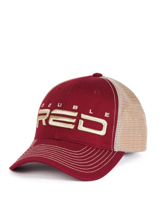 DOUBLE RED Airtech Mesh Cap Bordeaux Sand f5e510c6627